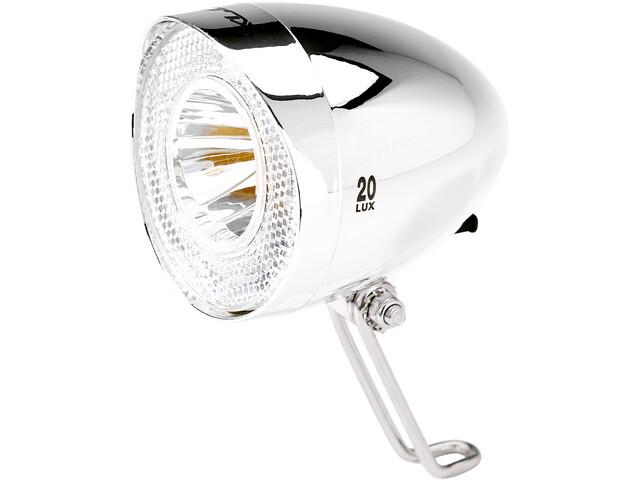 XLC LED Retro Koplamp incl. Reflector, chrome